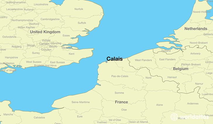 where is calais france where is calais france located in the