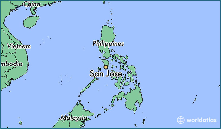 Where is San Jose, The Philippines? / San Jose, Mimaropa Map ...