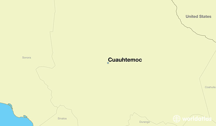 Where is Cuauhtemoc, Mexico? / Cuauhtemoc, Chihuahua Map ... on