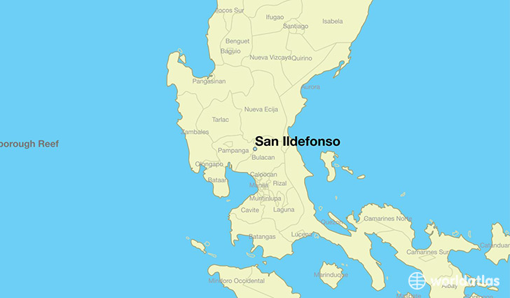 map showing the location of San Ildefonso