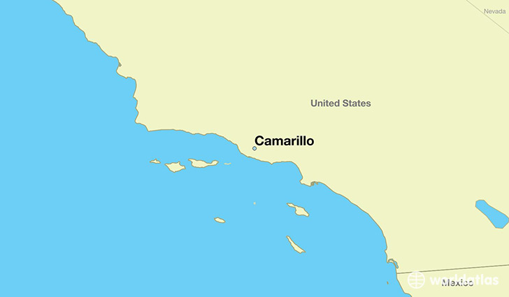 Camarillo Map on