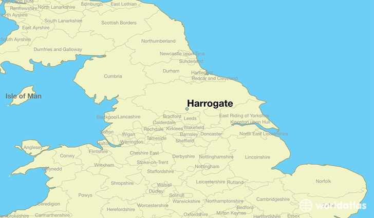 Where Is Harrogate England Harrogate England Map