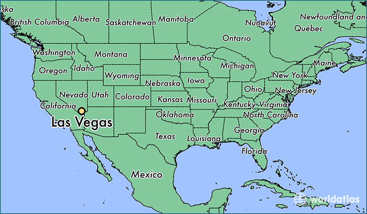 Las Vegas World Map