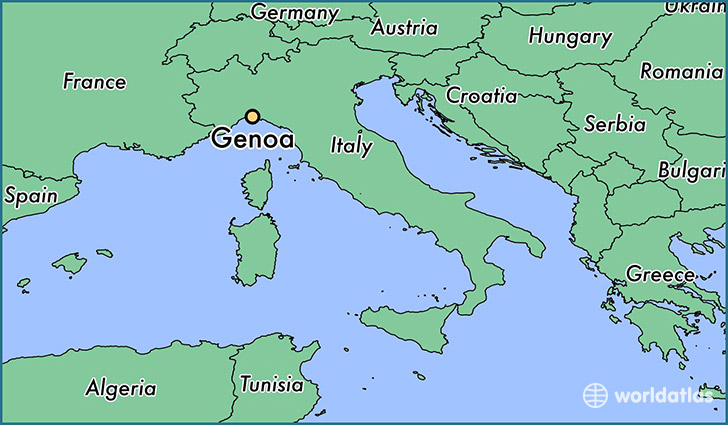 where is genoa italy where is genoa italy located in the