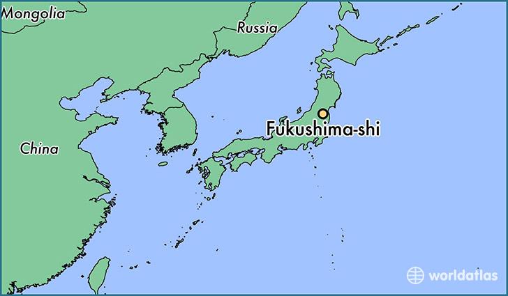 where is fukushima shi japan where is fukushima shi japan