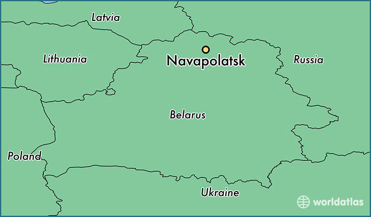 Where Is Navapolatsk Belarus Navapolatsk Vitebsk Map - Navapolatsk map