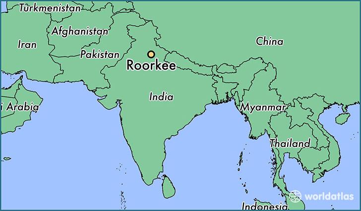 Where is Roorkee, India? / Roorkee, Uttarakhand Map - WorldAtlas.com