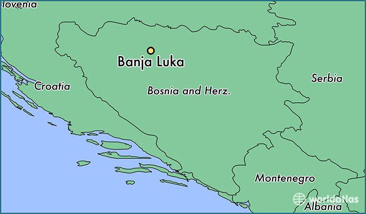 Where is Banja Luka Bosnia And Herzegovina Banja Luka Republika