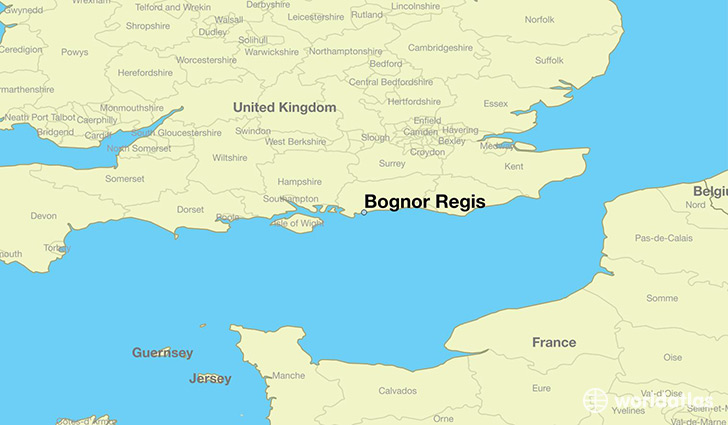 Map Of England Showing Cities.Where Is Bognor Regis England Bognor Regis England Map