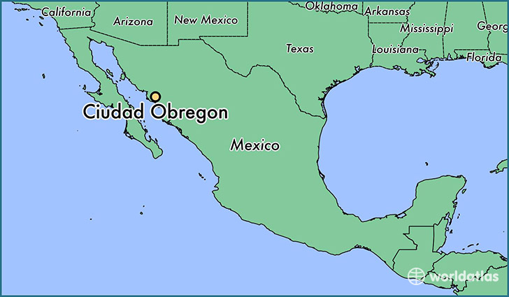 Obregon Mexico Map.Where Is Ciudad Obregon Mexico Ciudad Obregon Sonora Map