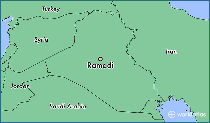 Ramadi Iraq Map Where is Ramadi, Iraq? / Ramadi, Anbar Map   WorldAtlas.com