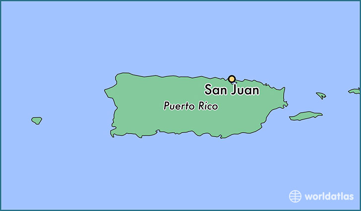 Where Is San Juan Puerto Rico Where Is San Juan Puerto Rico - Map us laatitude san juan
