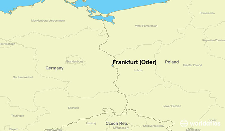 Where Is Frankfurt Oder Germany Frankfurt Oder Brandenburg