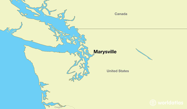 Where is Marysville WA Marysville Washington Map WorldAtlascom