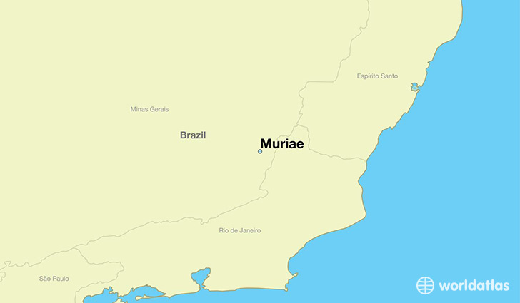 map showing the location of Muriae