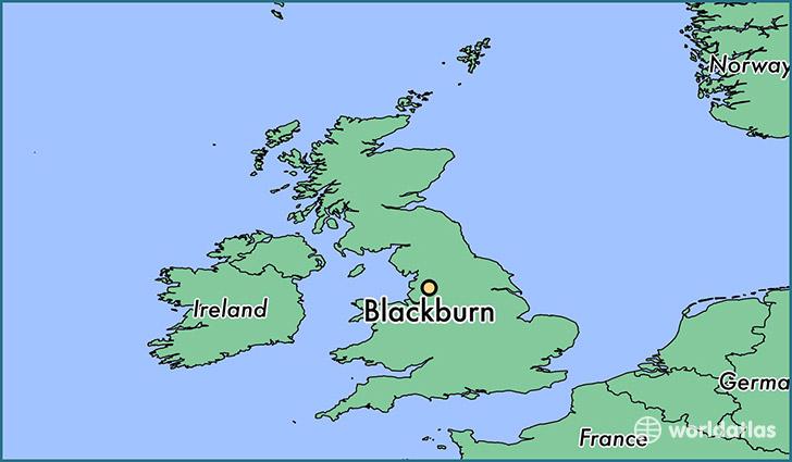 Where is Blackburn, England? / Blackburn, England Map   WorldAtlas.com