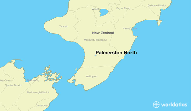 Map Of Palmerston North New Zealand.Where Is Palmerston North New Zealand Palmerston North