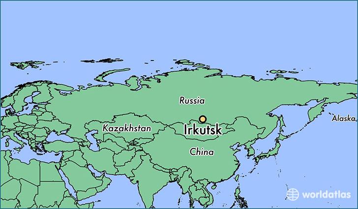 Where is Irkutsk, Russia? / Irkutsk, Irkutsk Oblast Map
