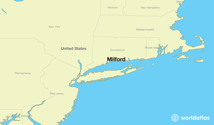 Where is Milford, CT? / Milford, Connecticut Map   WorldAtlas.com
