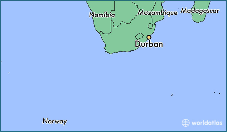Where is Durban, South Africa? / Durban, KwaZulu Natal Map