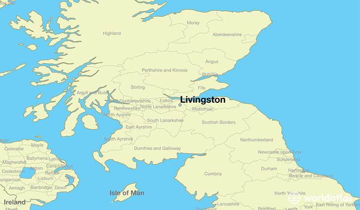 Where is livingston scotland livingston scotland map map showing the location of livingston gumiabroncs Image collections