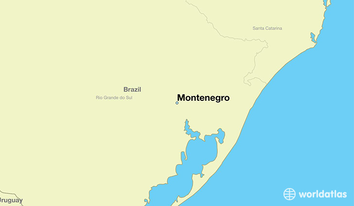 Where Is Montenegro Brazil Montenegro Rio Grande Do Sul Map - Where is montenegro
