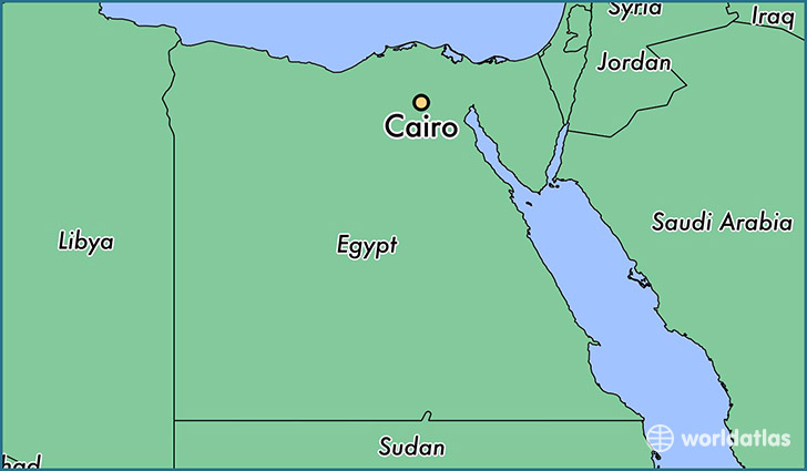 Where Is Cairo Egypt Where Is Cairo Egypt Located In The - Map of egypt on world map