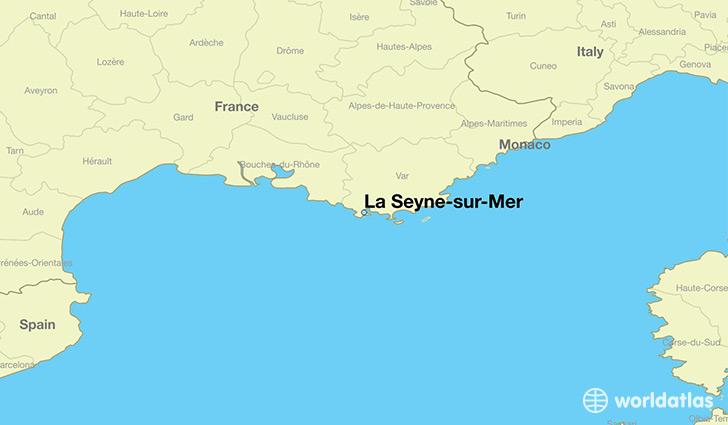 where is la seyne sur mer france la seyne sur mer provence alpes cote d 39 azur map. Black Bedroom Furniture Sets. Home Design Ideas