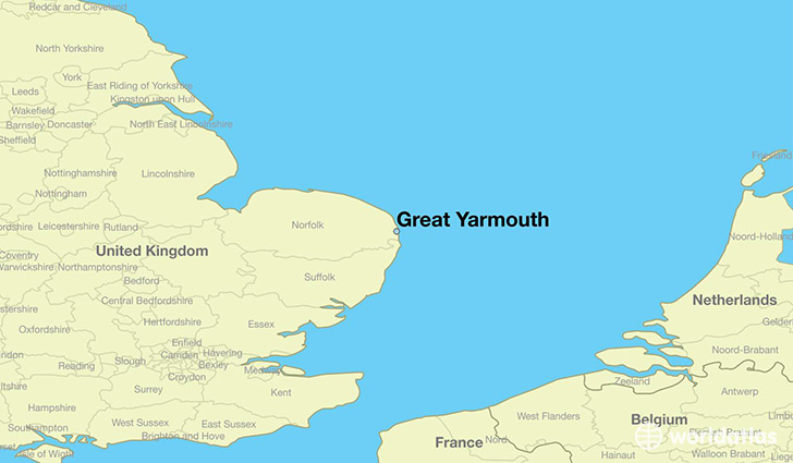 Where Is Great Britain On A World Map.Where Is Great Yarmouth England Great Yarmouth England Map