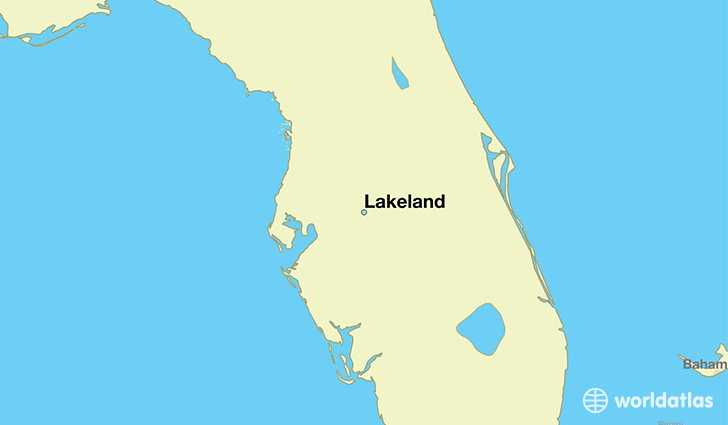 florida map lakeland fl