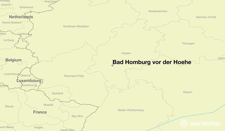 Where is Bad Homburg vor der Hoehe, Germany? / Bad Homburg vor der
