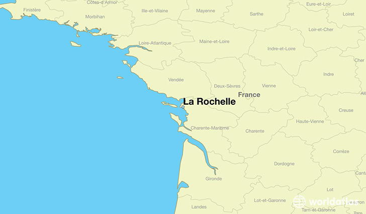 La Rochelle France Map Where is La Rochelle, France? / La Rochelle, Poitou Charentes Map  La Rochelle France Map