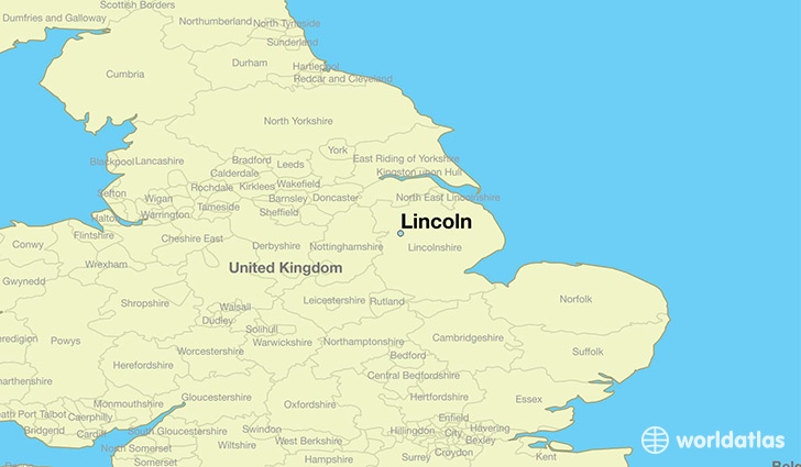 Old maps of Lincoln