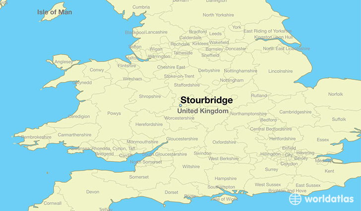 Where is Stourbridge England Stourbridge England Map