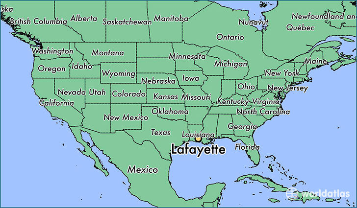 Where is Lafayette LA Where is Lafayette LA Located in The