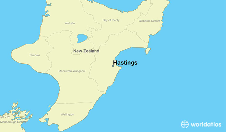 Map Of Hastings Where is Hastings, New Zealand? / Hastings, Hawke's Bay Map