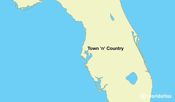 Where is Town n Country FL Town n Country Florida Map