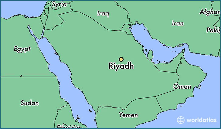 Where is riyadh located on the world map cyndiimenna where is riyadh saudi arabia map showing the location gumiabroncs Image collections