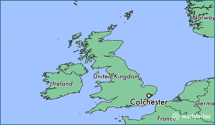 Where is Colchester, England? / Colchester, England Map