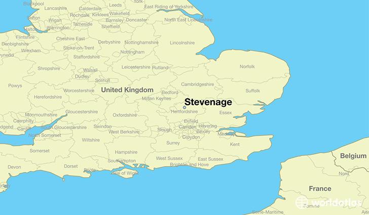 Uk Map Jpg.Where Is Stevenage England Stevenage England Map Worldatlas Com