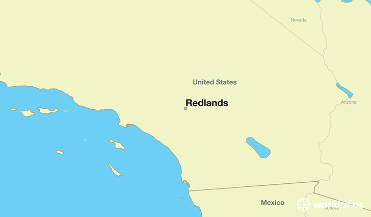 Where is Redlands, CA? / Redlands, California Map   WorldAtlas.com