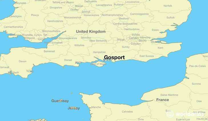 Uk Map Jpg.Where Is Gosport England Gosport England Map Worldatlas Com