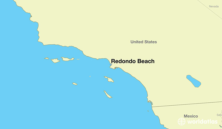 Where is Redondo Beach CA Redondo Beach California Map