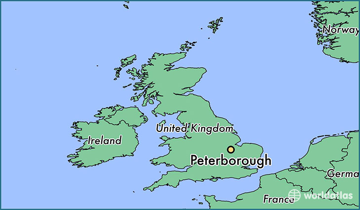Where is Peterborough England Peterborough England Map