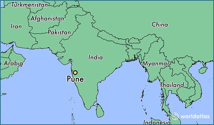 Where is Pune, India? / Pune, Maharashtra Map   WorldAtlas.com