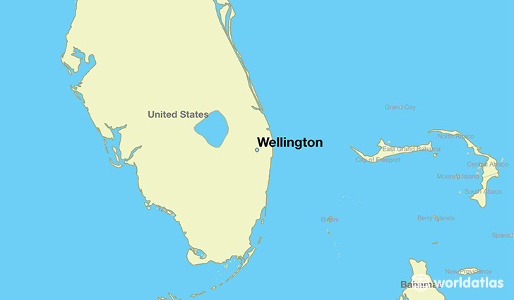 Map Of Wellington Florida Where is Wellington, FL? / Wellington, Florida Map   WorldAtlas.com