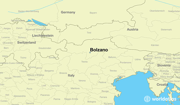 1101382 bolzano locator map