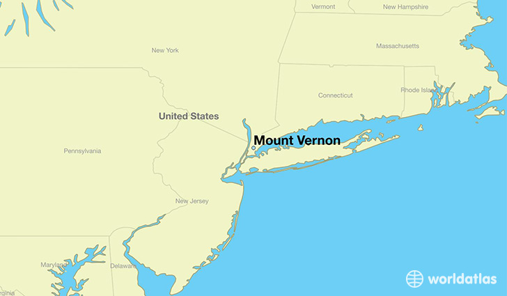 Where is Mount Vernon NY Mount Vernon New York Map WorldAtlascom