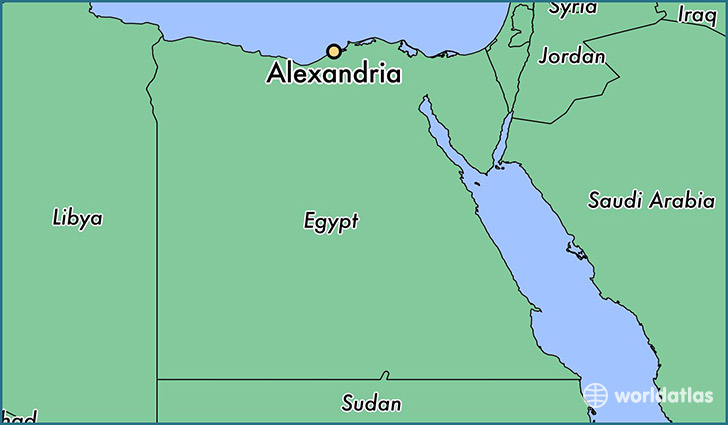 Where is Alexandria, Egypt? / Alexandria, Alexandria Map