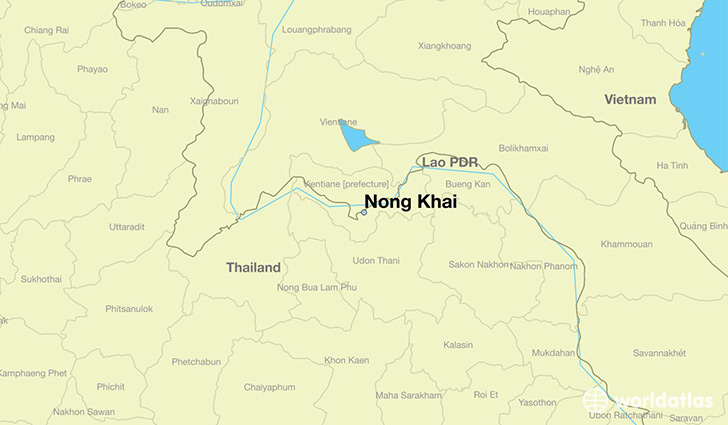 Nong Khai Thailand Map.Where Is Nong Khai Thailand Nong Khai Nong Khai Map
